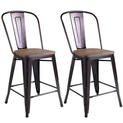 Williston Forge Belisle Dining Chair | Metal dining chairs