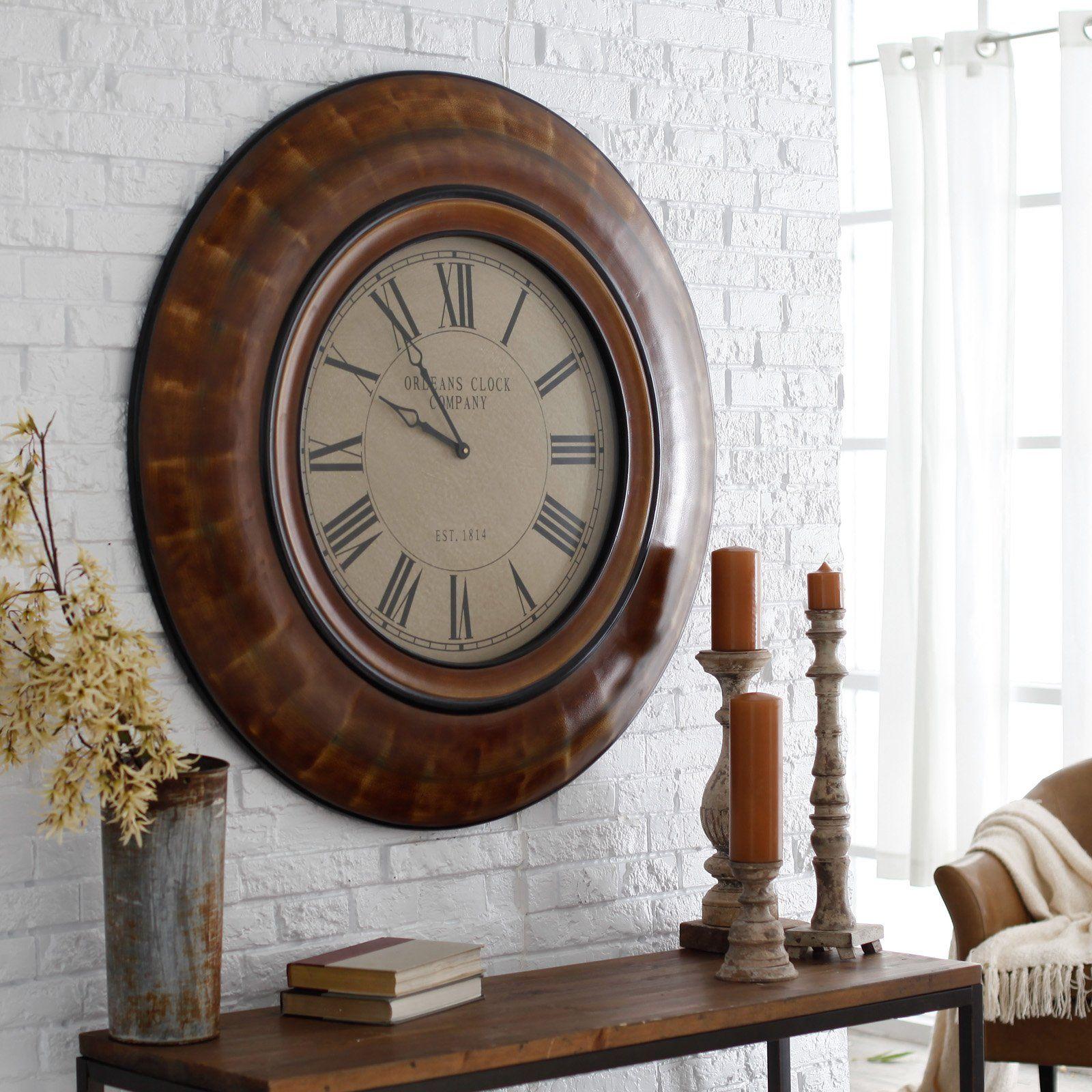 Cooper Classics Noelle 41 In Wall Clock Wall Clock Clock Clock Decor