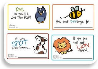 adorable preschool lost book labels free printable preschool