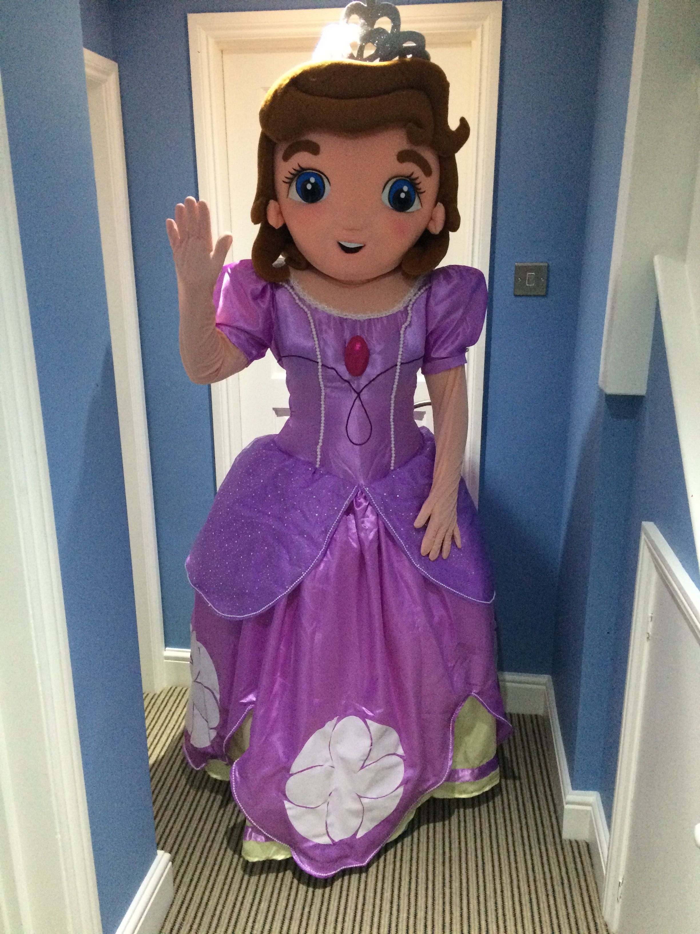 Sofia The First Character Mascot Look A Like Available To
