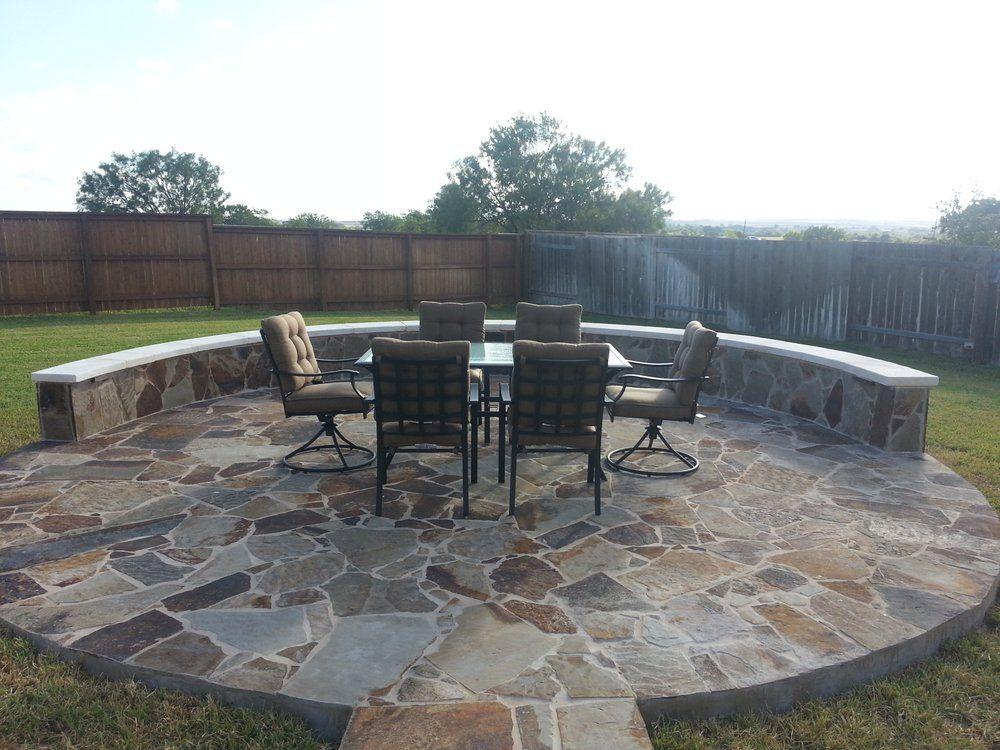 Nice Austin Yard Builder Masonry Contractor   Austin, TX, United States.  Oklahoma Patio Stone