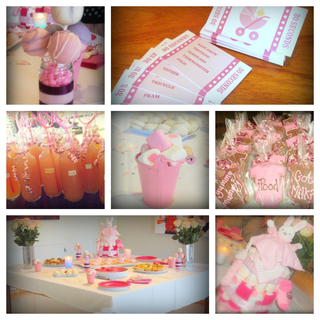 Baby Shower Themes For Girls Pinterest: Girl Baby Shower Ideas