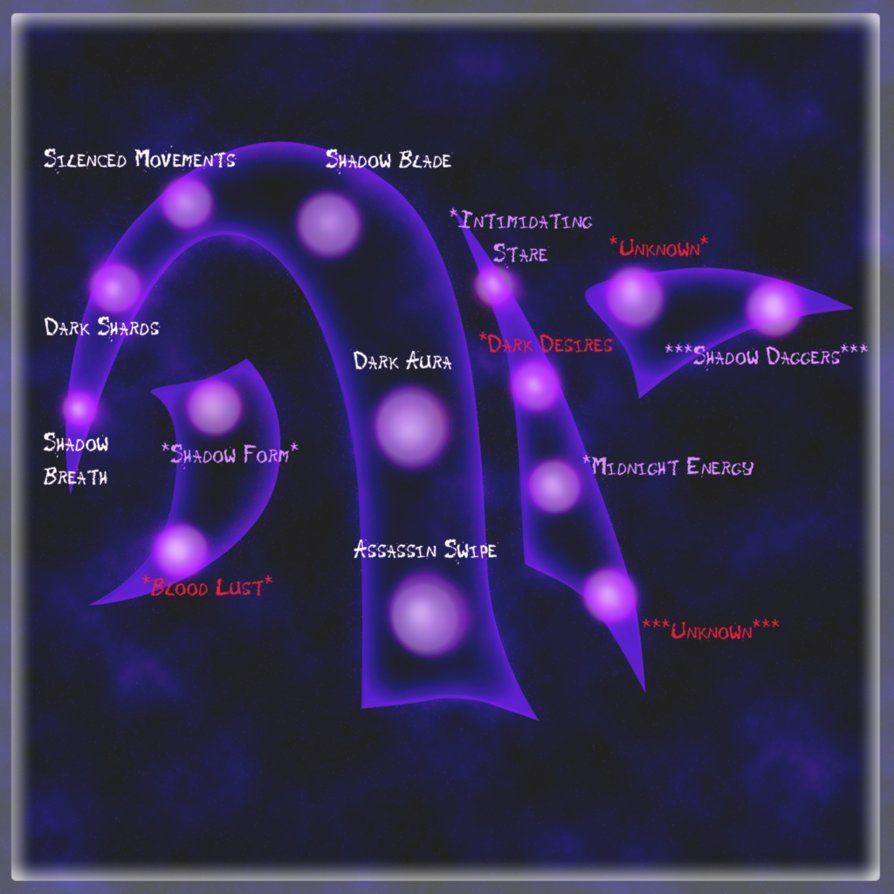 elemental power tree shadow by neffertity magic pinterest