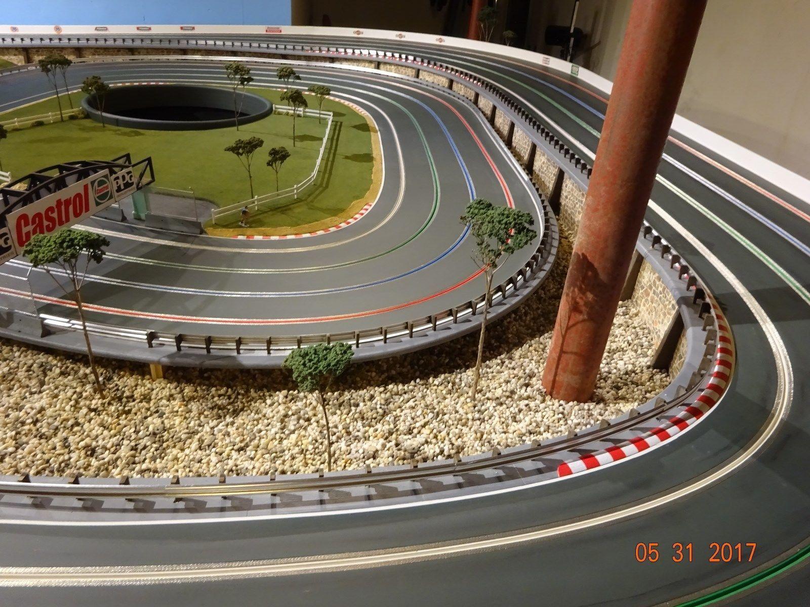 1 32 Scale Aluminum Armco Guardrail System Slot Car Track Diorama Scenery Ebay Slot Cars Slot Car Track Slot