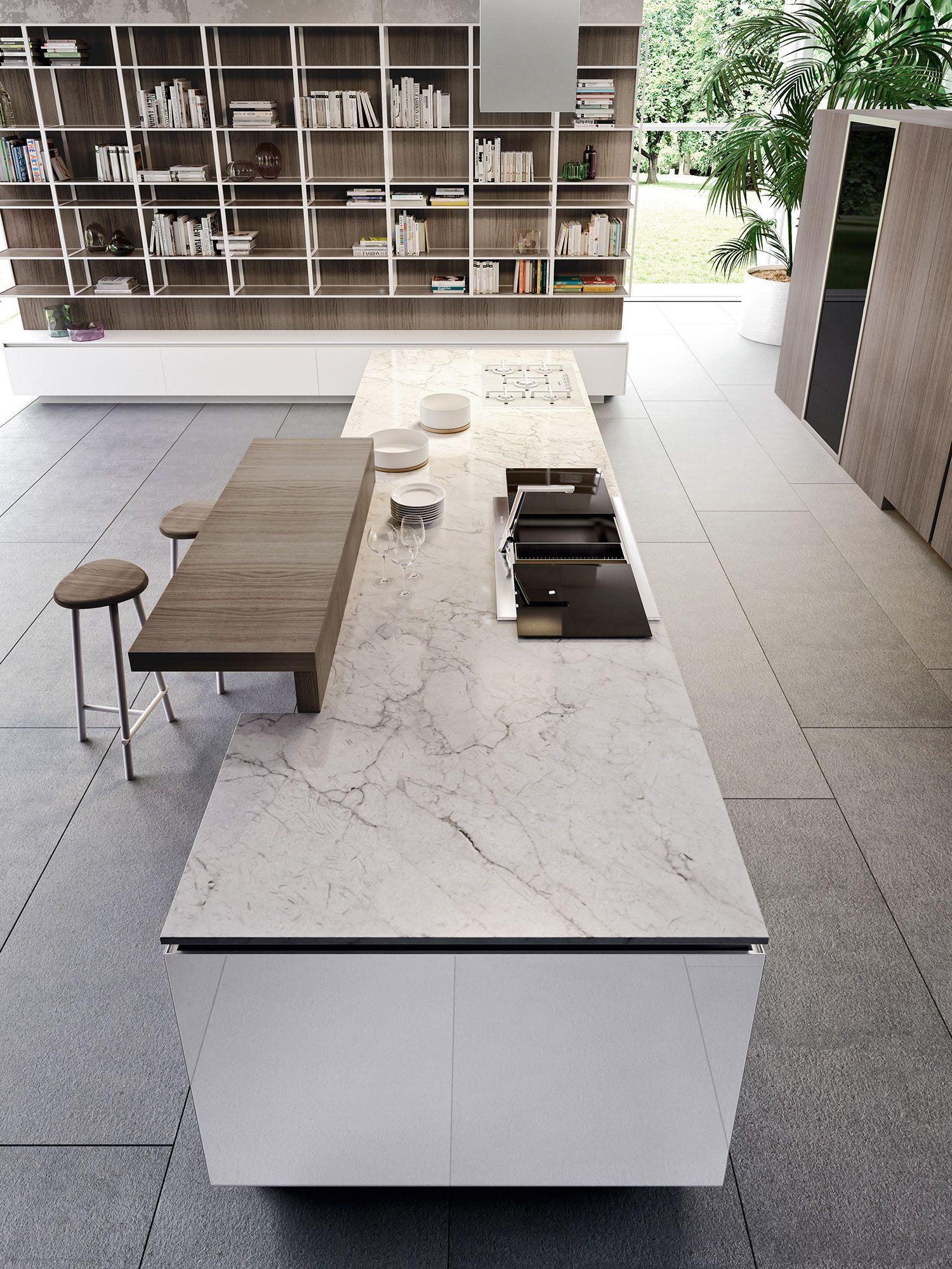 Ein traum des minimalisten polierte art materia küche für das stadthaus neue dekorations ideenneue dekorations ideen