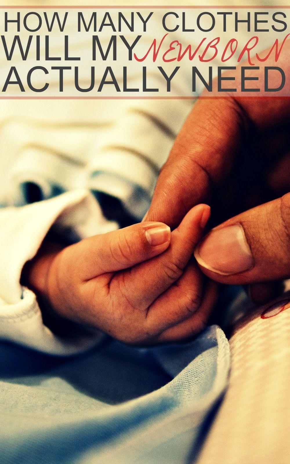 How Many Clothes Does My Newborn Need | Newborn needs ...