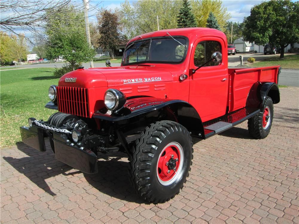 1952 Dodge Power Wagon Lot 1247 Barrett Jackson Auction