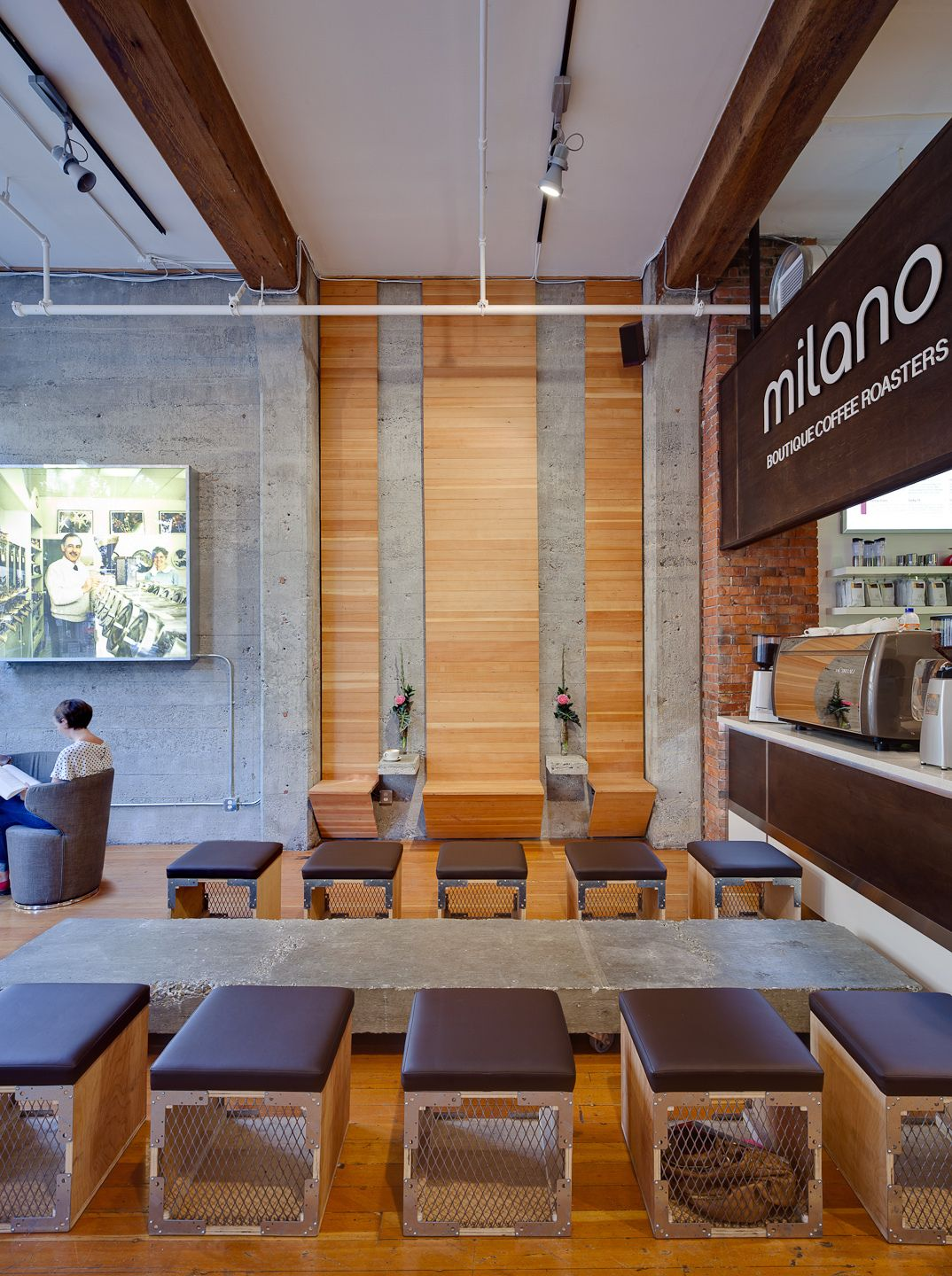 Our Gastown Location Featured On Archinect Raw Lounge