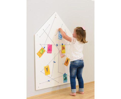 Memoboard Kinderzimmer ~ Sehr praktisch: #educasa #memoboard zum aufhängen von notizen