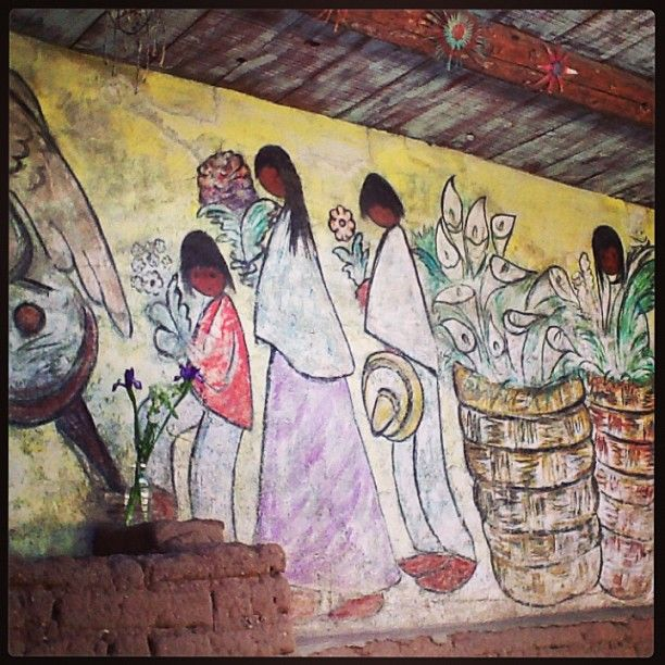 DeGrazias Mission in the Sun open daily from 10-4, free admission. #DeGrazia #GalleryInTheSun #ArtGallery #NationalHistoricDistrict #Gallery #Adobe #Tucson #Arizona #MissionInTheSun #Mission #Murals #Guadalupe #Shrines