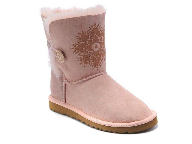 Ugg Bailey Button Kimono 3058 Laarzen Pink Ugg 0011 126 99 Stivali Ugg A Buon Mercato Negozio On Line In Italia Ugg Boots Pink Uggs Boots