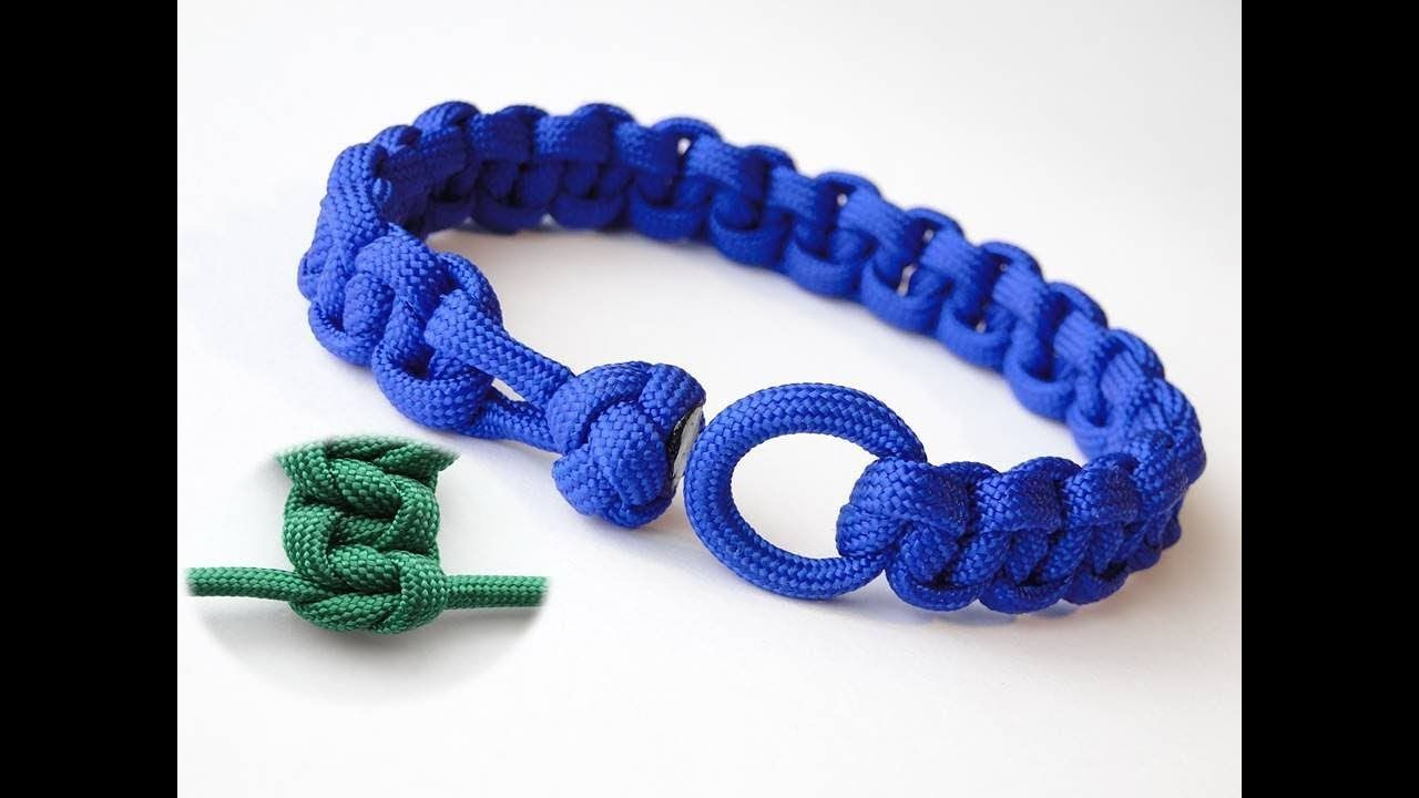 How To Make A Cobra Paracord Bracelet Without Centre Strands Cobra