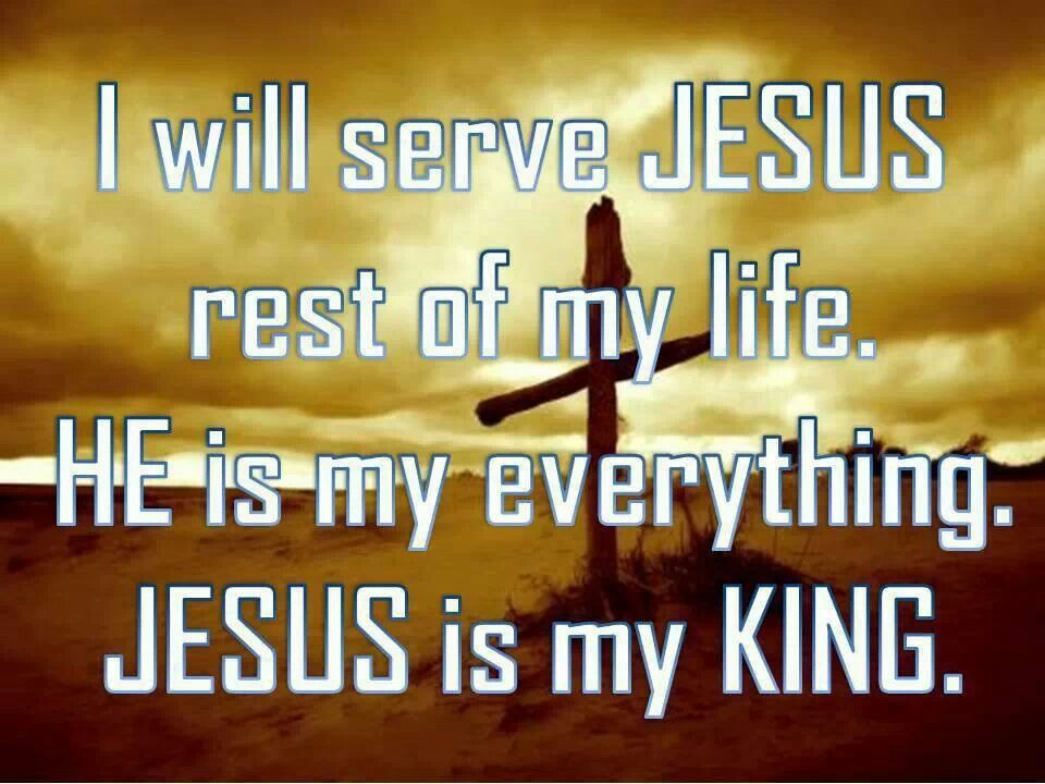 Jesus Is King How About You Is Jesus Your King