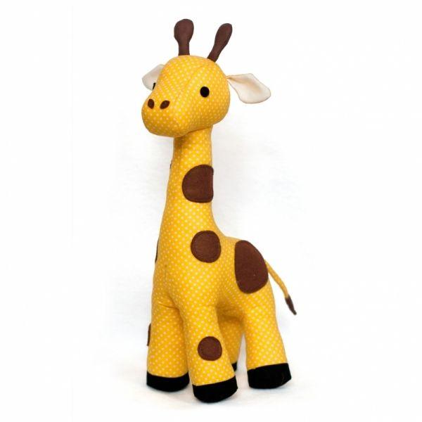 Giraffe Plush sewing pattern by DIY Fluffies | Muñecos de tela ...