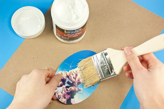 Transfer Laser Printed Photos Onto Wood DIY Project | Apartment Therapy