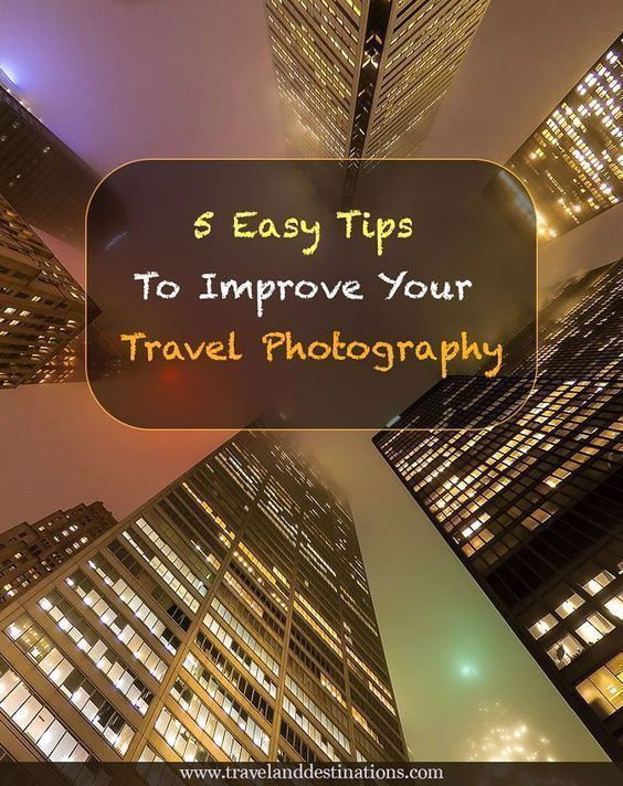 A blog post with 5 Easy Tips To Improve Your Travel Photography. #travelphotography #photography #travel #tips #instagram #travelphotographytips