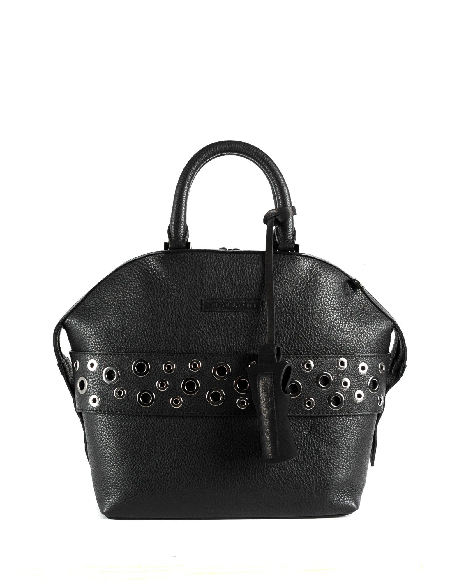 various colors 3fe35 2696d Malloni leather tote bag // Shop at Malloni Online Boutique ...