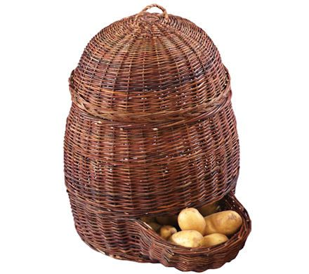 Brand New Esschert Design Potatoe Potato Vegetable Wicker Basket With Lid Fruit  sc 1 st  Pinterest & wicker potato hopper   Our hippy commune   Pinterest   Potato ...