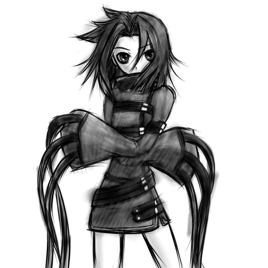 Anime Straight Jacket Jacketin Anime Character Design