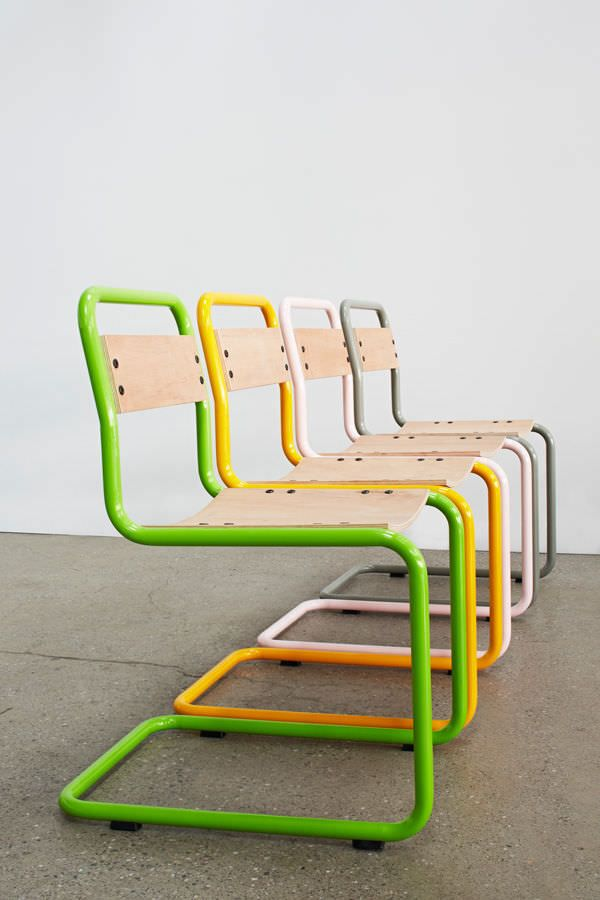 Image Result For Bent Metal Tube Chair