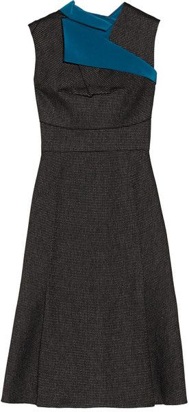 Peperino Folded Knitted Dress - Lyst