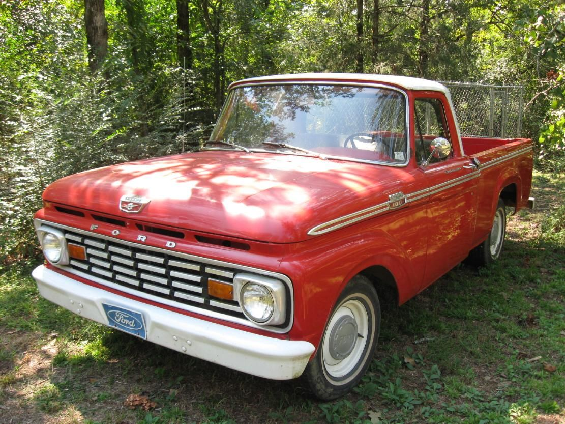 1961 ford f pickup red and white google search
