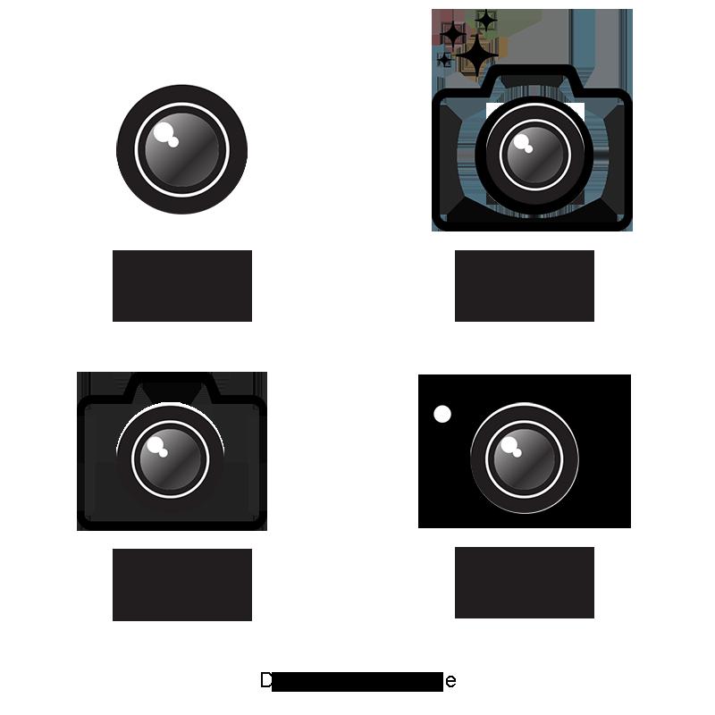 Camera Logo Vector, Logo Clipart, Vector, Logo PNG