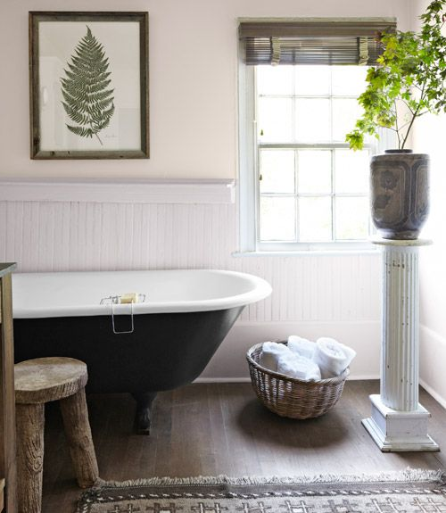 Designing Your Bathroom A Natural Antebellum Home  Master Bathrooms Columns And Yards