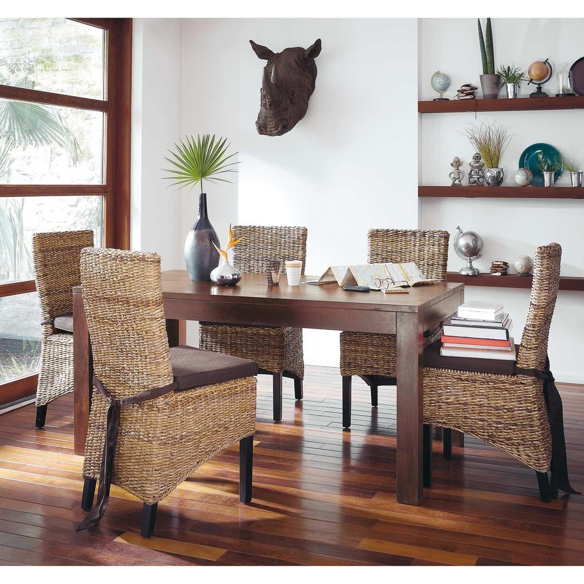 Tables et bureaux | Table salle à manger, Deco maison du ...