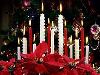 Pin By Christine On Merry Christmas 2 Christmas Candle Decorations Christmas Candles Christmas Candle