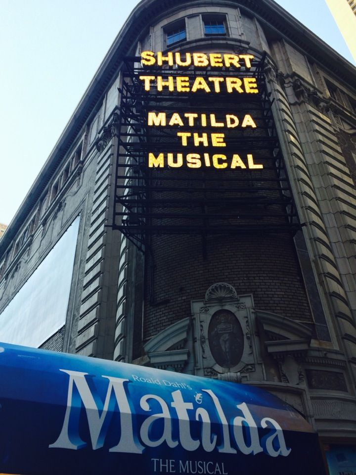 Matilda at the Shubert Theatre in New York, NY