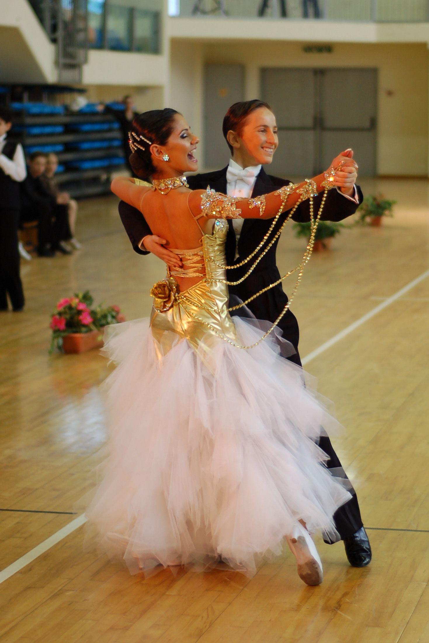 схема легкого танца