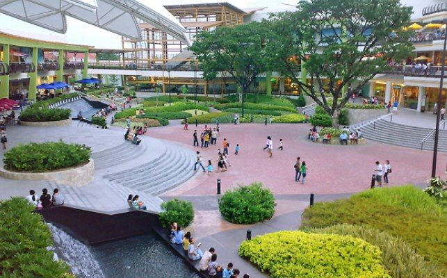 Ayala center cebu philippines landscape pinterest for Filipino landscape architects