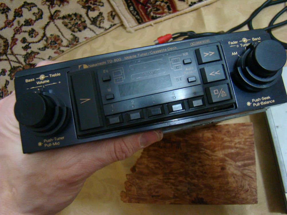 Period Correct 1980 S Vintage Nakamichi Cassette Player