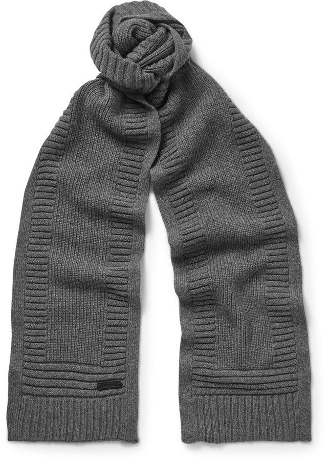 2df483288c4 Belstaff Kameron Wool and Cashmere-Blend Scarf | Mens Scarves