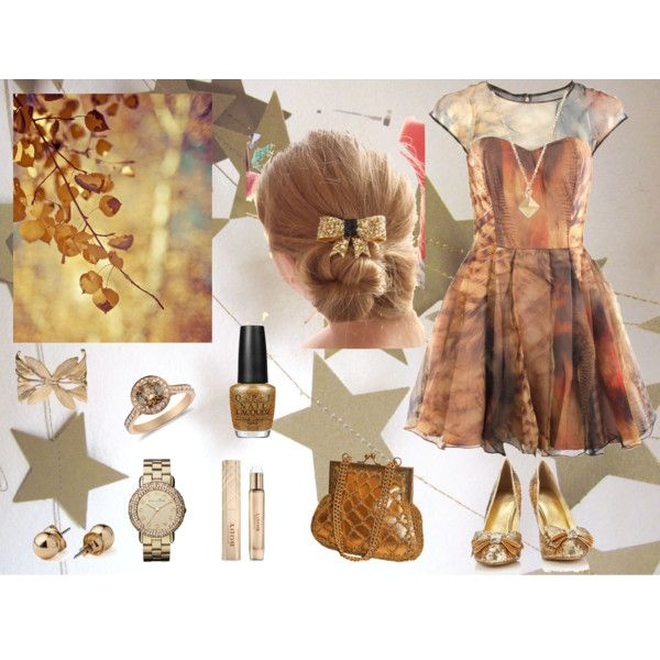 """""""gold"""" by jackielee-1 on Polyvore"""