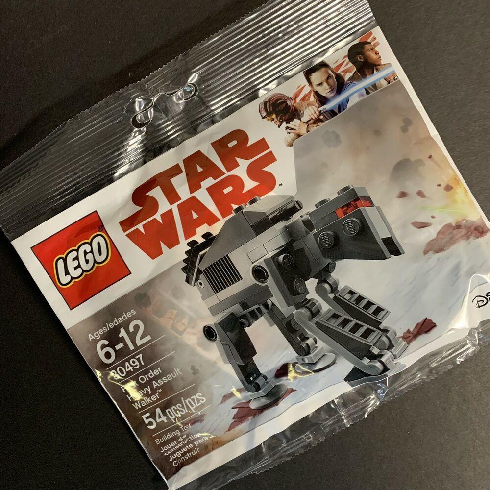 Lego Star Wars Polybag 30497 First Order Heavy Assault Walker 54pcs Sealed 2017
