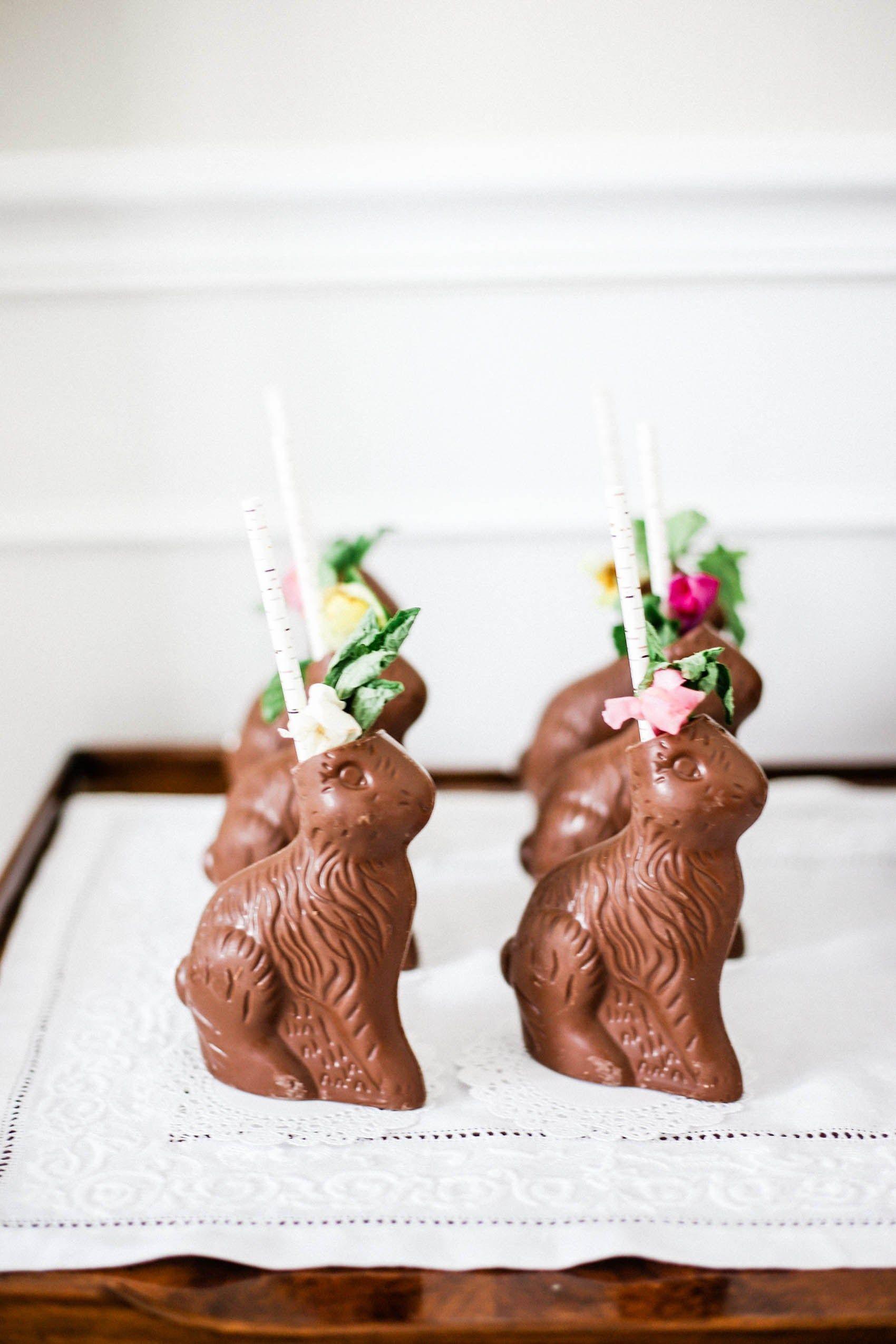 Photo of Ostern-Cocktails – zwei Bestandteil-Schokoladen-Häschen-Cocktails