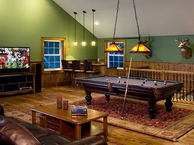 Pin By Lindsay On Garage Garage Game Rooms Pool Table Room Bonus Room