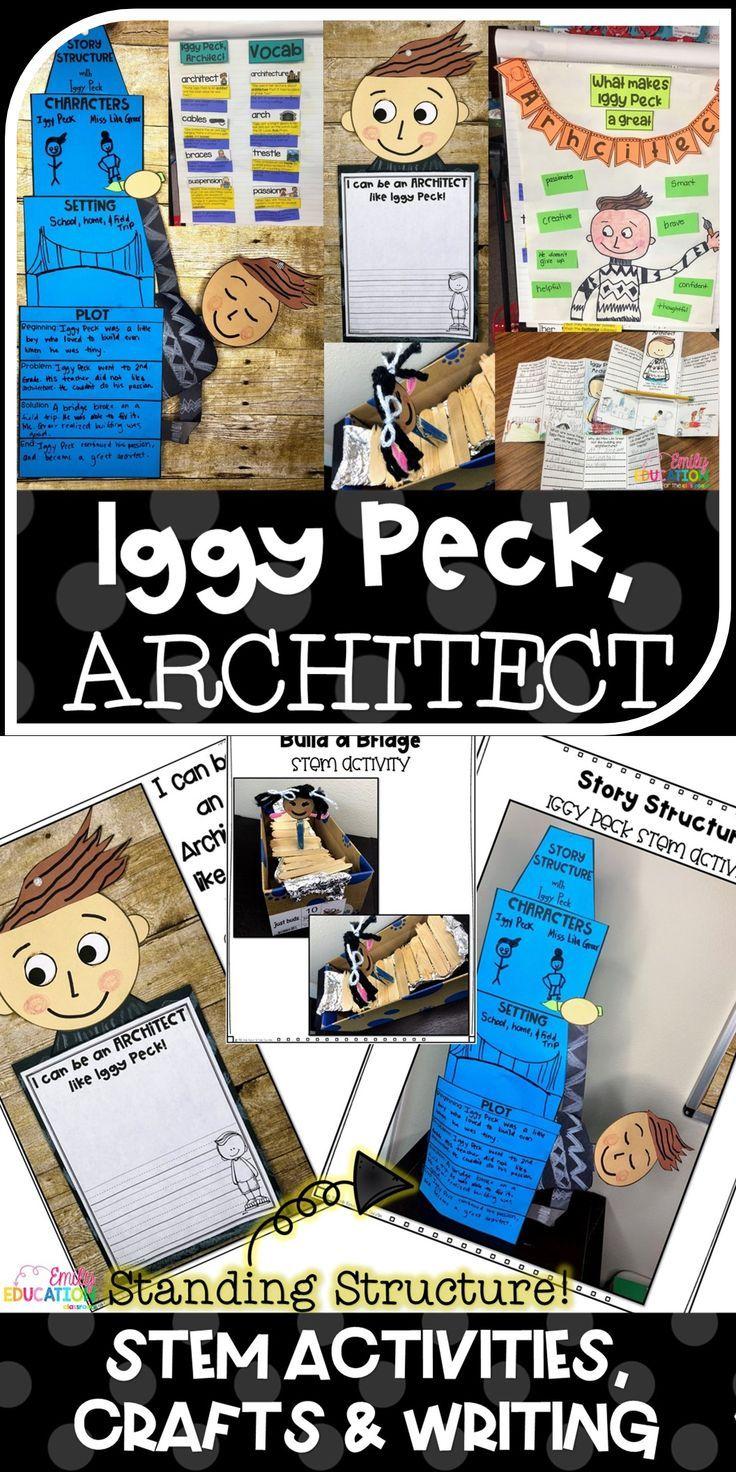 Iggy Peck, Architect Activities and STEM Unit #stemactivitieselementary