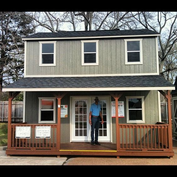 12 000 Shed At Home Depot But Could Be Built And Live In As A House Tiny House Cabin Shed Homes Tiny House Living