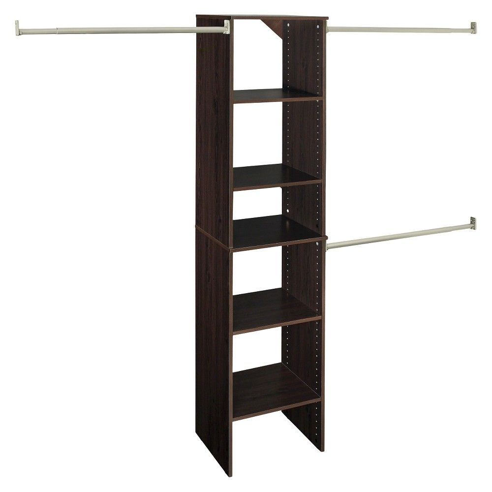 ClosetMaid Suite Symphony 16 Wide Closet System Starter Tower ...