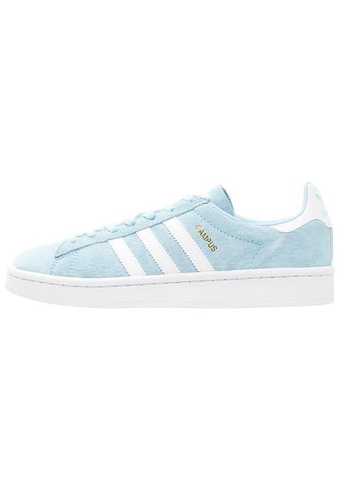 adidas Originals CAMPUS - Zapatillas - iceblue/white/crystal ...