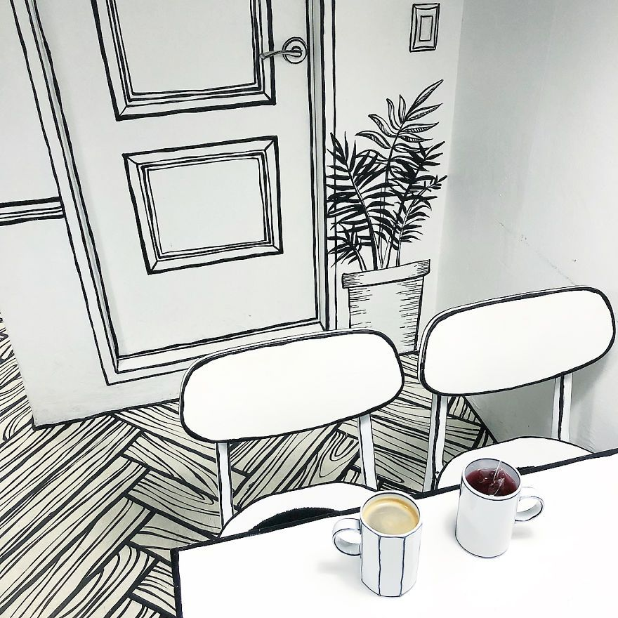This Unusual Cafe In Seoul Will Make You Feel Like You Walked Into