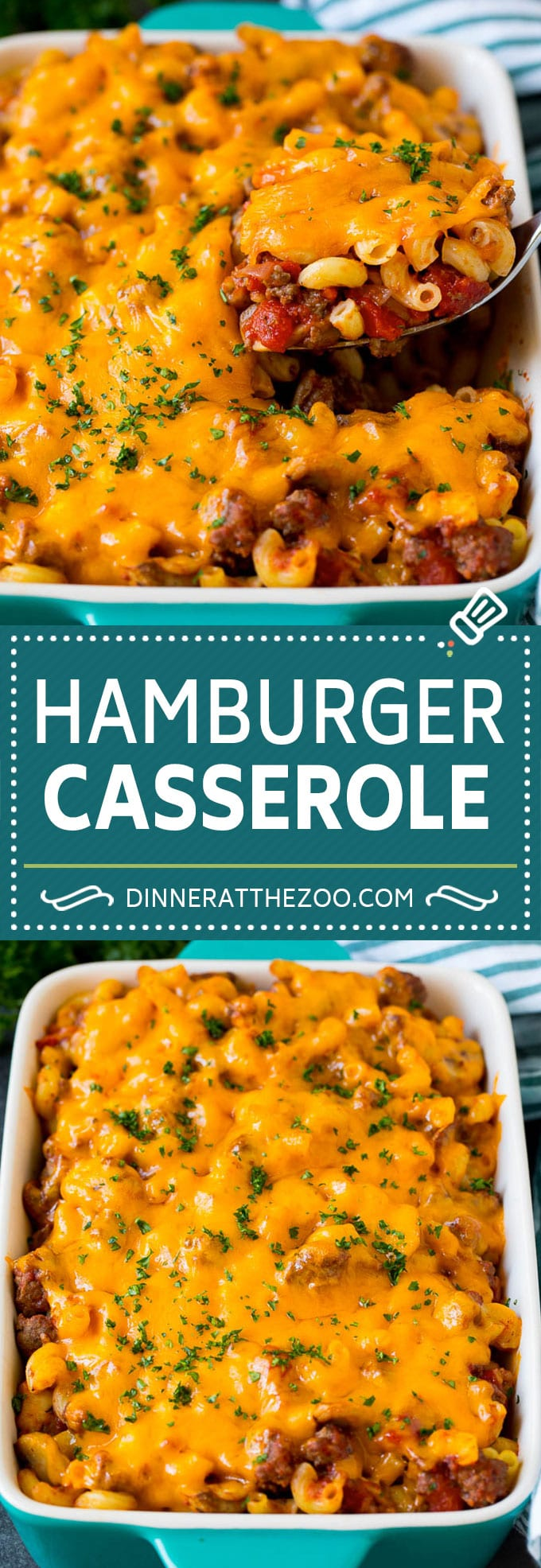 This Hamburger Casserole Is Ground Beef And Mushrooms In Tomato Sauce Tossed With Pasta And In 2020 Hamburger Casserole Dinners Hamburger Casserole Dinner Casseroles