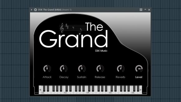 The Grand - Free Piano VST Instrument Plugin by DSK Music
