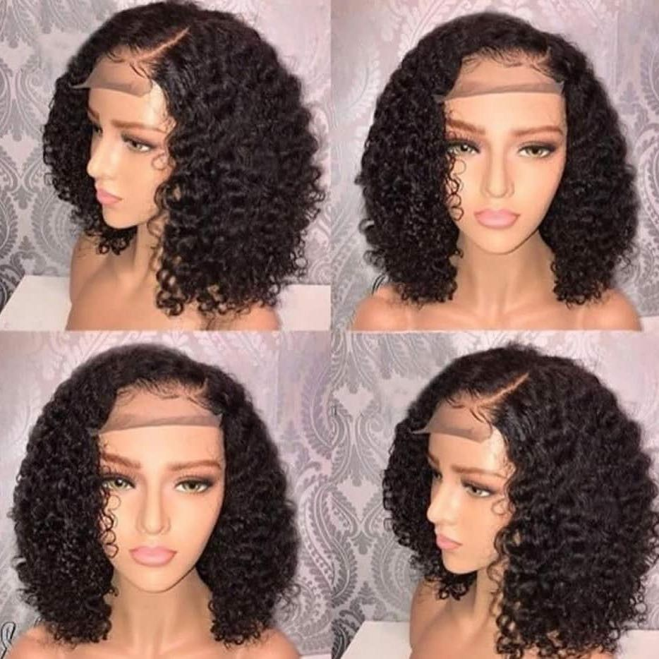 Who Wants This Curly Lace Closure Wig Click The Link Below Front Lace Wigs Human Hair Curly Bob Wigs Human Hair Lace Wigs