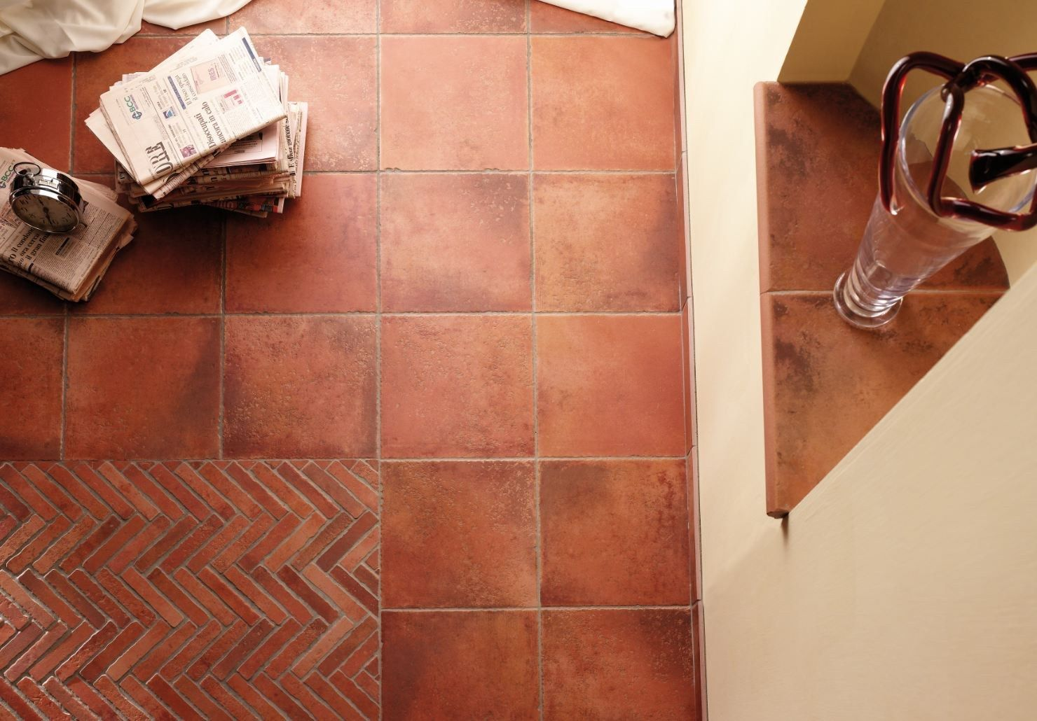 Terracota floor tiles interiors pinterest terracotta floor terracota floor tiles dailygadgetfo Choice Image