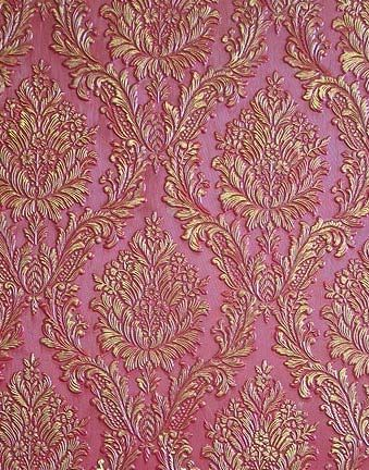 Pink And Gold Wall Texture And Design Antique Wallpaper