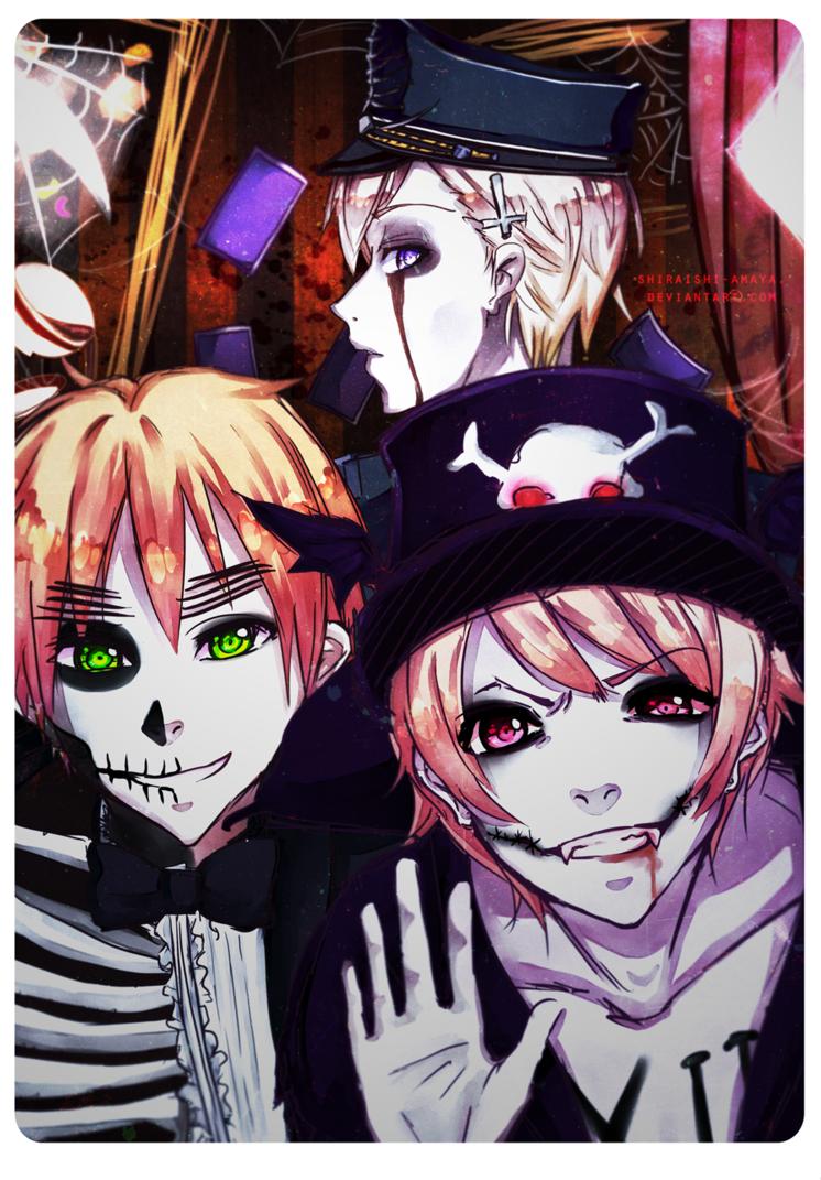 deviantART More Like [APH] The Magic Trio Shimeji Thing